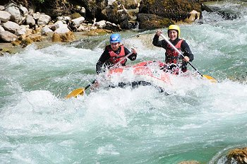 Discese in rafting